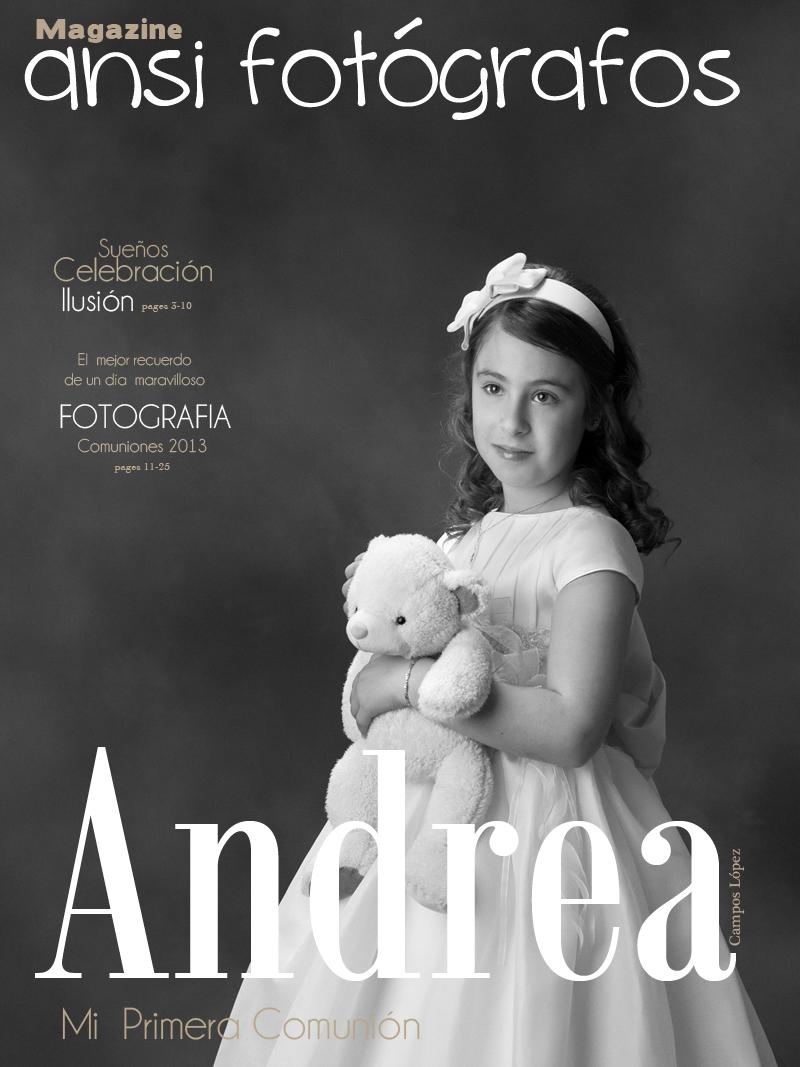 Andrea Campos -Comuniones 2013